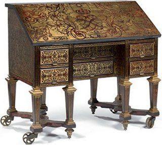 Le Bureau De Louis Xiv Retrouve Versailles Mobilier De Salon Mobilier De France Bureau Ancien