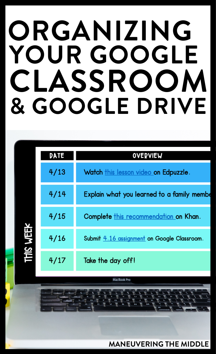 Google Drive Google Classroom Tips In 2020 Google Classroom Google Classroom Assignments Classroom Technology