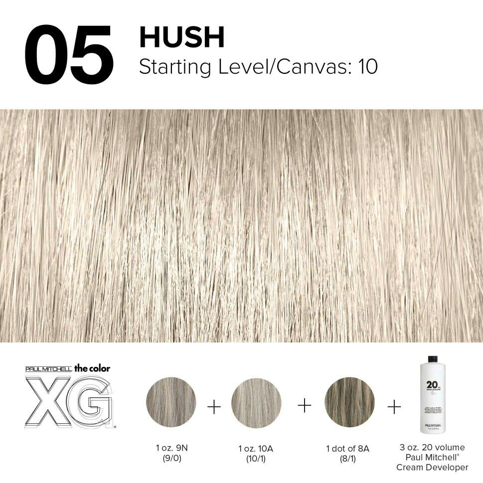 Color Xg Formula Created By Paul Mitchell With Images Hair