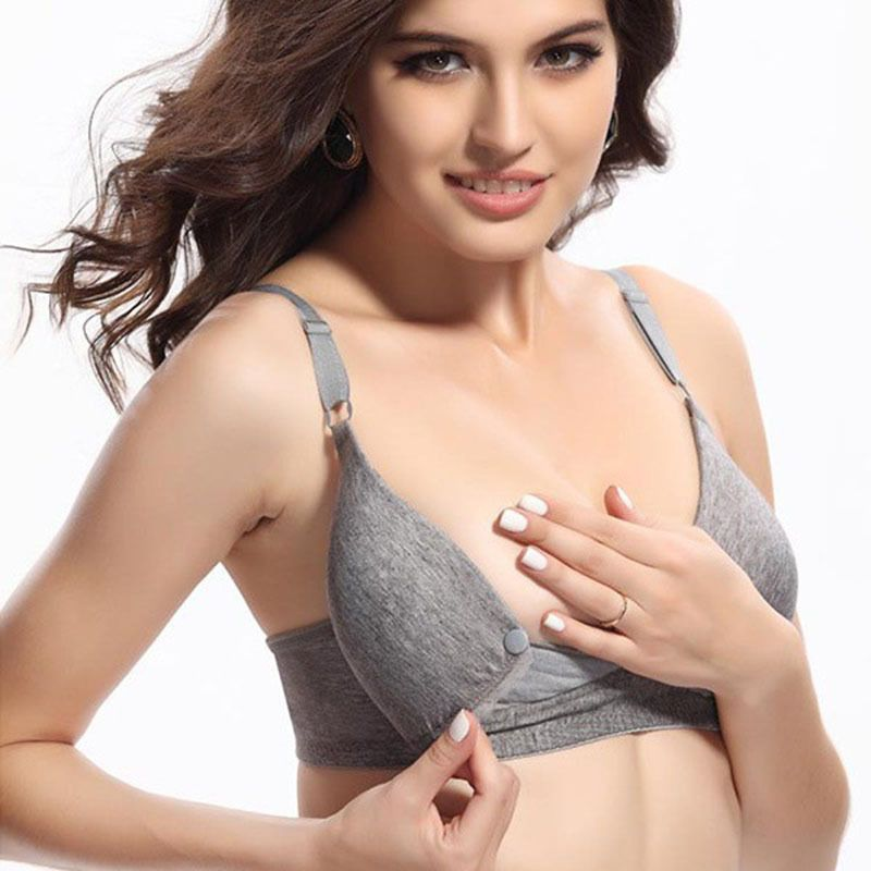 Maternity Clothing Nursing bra Breast feeding Bra Brassiere front ...