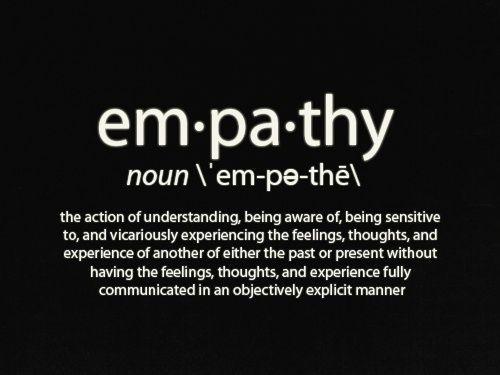 Empathy Words Quotes Empathy