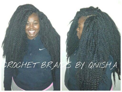 Crochet braids by me
