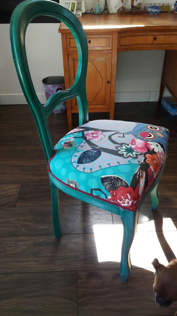 Chaise Relookee Refaire Les Chaises Relooking De Chaise Peindre Des Meubles Anciens