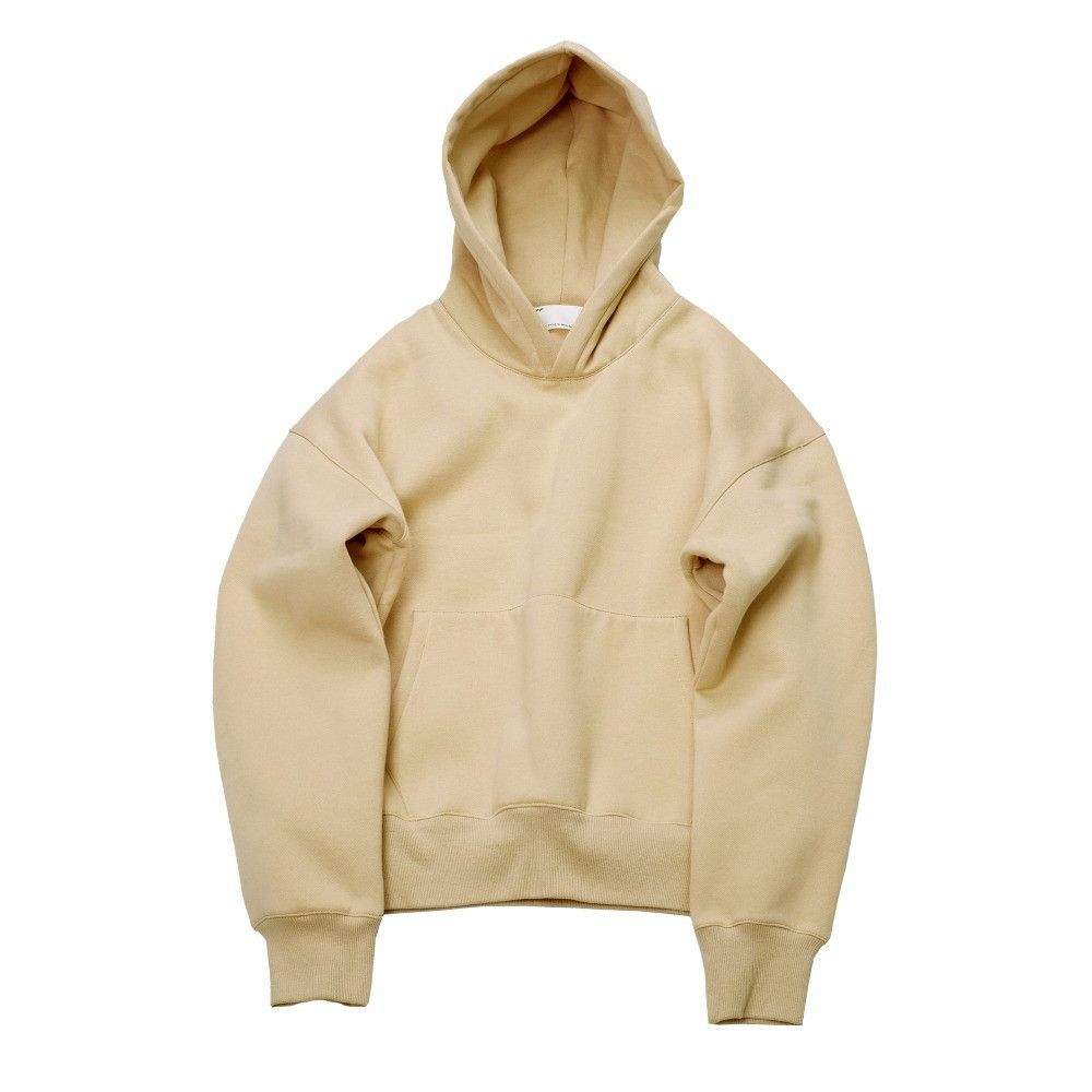 992361208e6de Very good quality nice hip hop hoodies with fleece WARM winter mens kanye  west hoodie sweatshirt swag solid Olive pullover