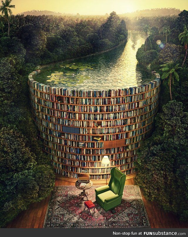 When you get lost in a book - FunSubstance