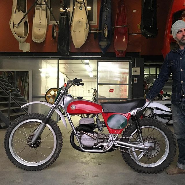 Mk6 Bultaco Pursang 1971  #bultaco #cemoto