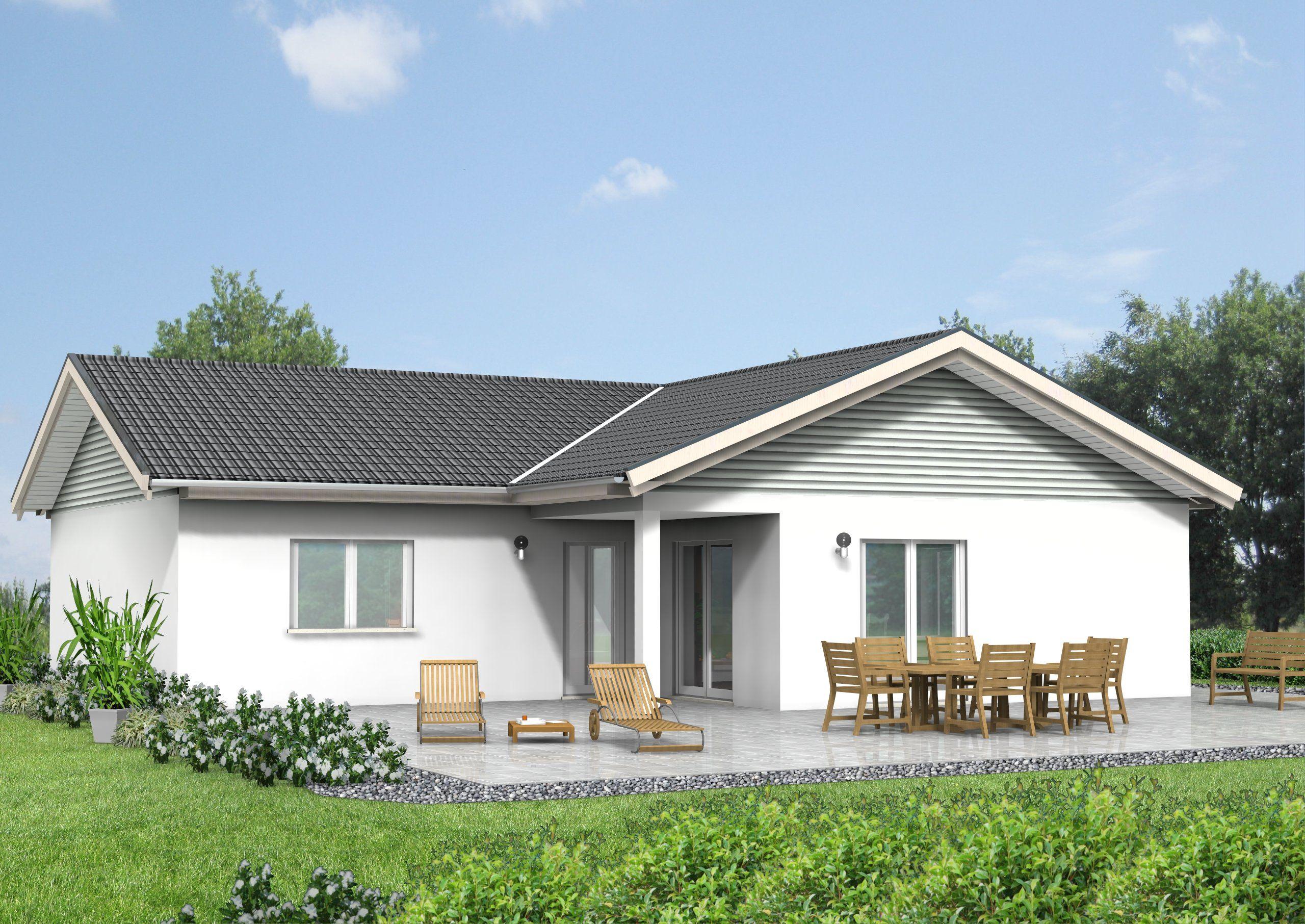Unsere Haus Idee mit ca 127 m² Wohnfläche Ein barriere freier