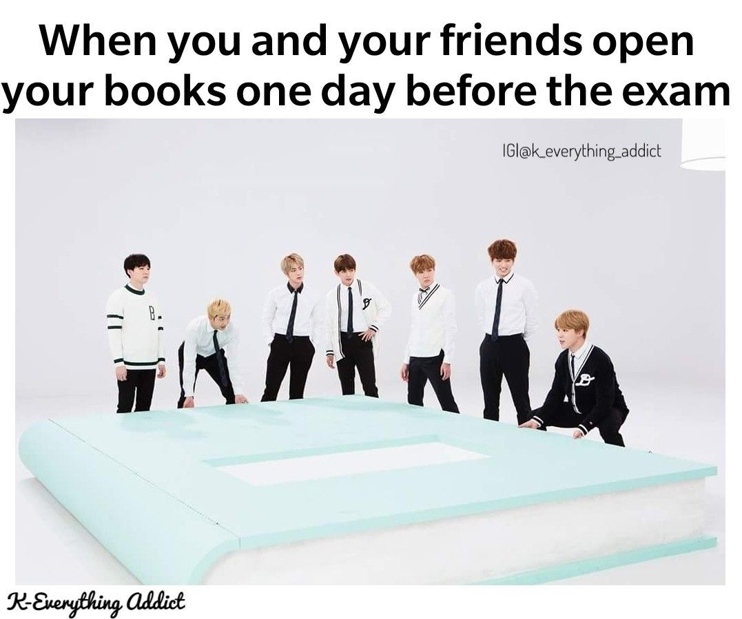 Me Bts Btsmemes Funny Memes Funnybts Exams Examsnextweek Rm Jhope Jin Jimin Jungkook Suga Failing L Bts Memes Hilarious Exams Memes Exams Funny