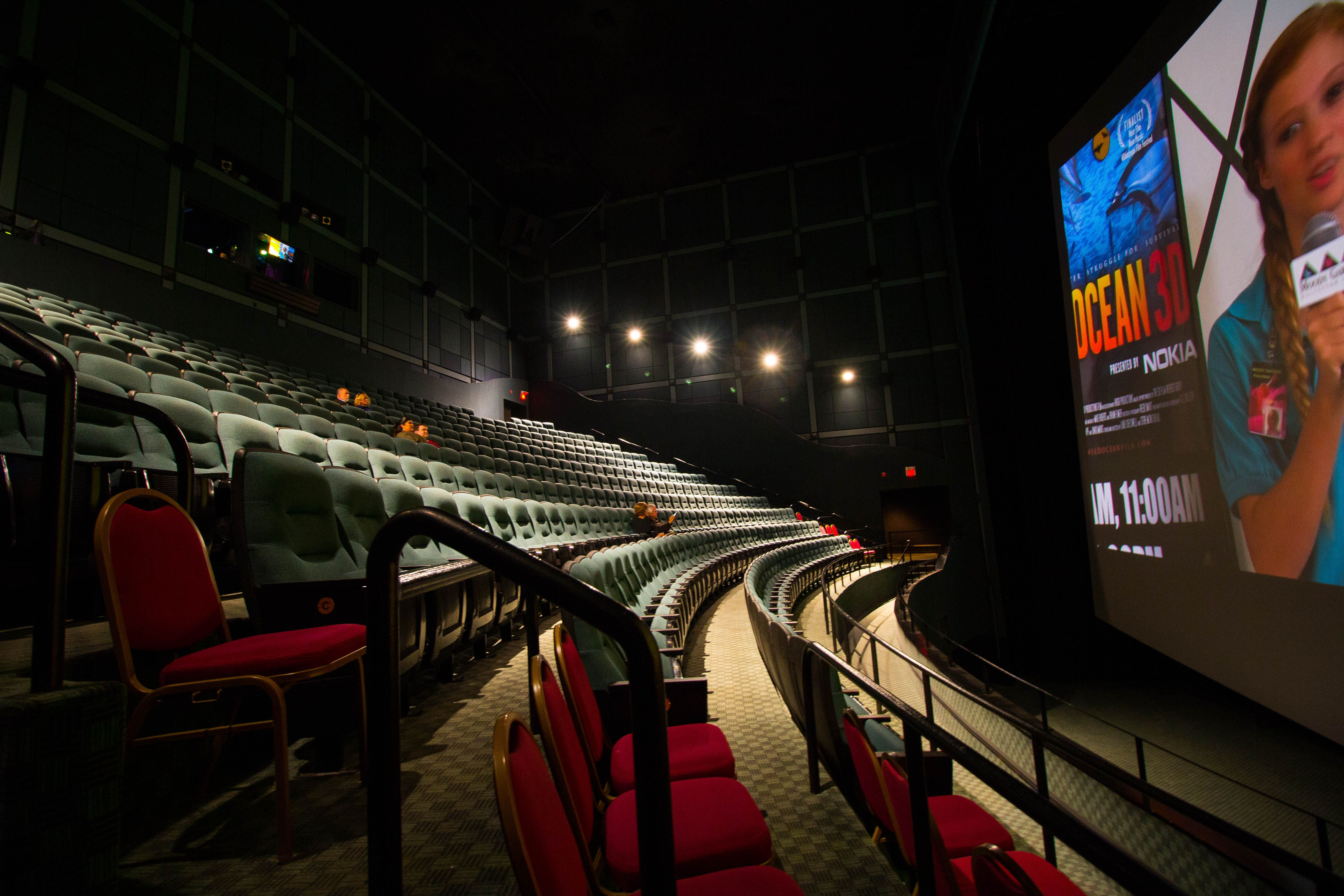 The BIGGEST SCREEN in TEXAS! Moody Gardens MG 3D Theater ...