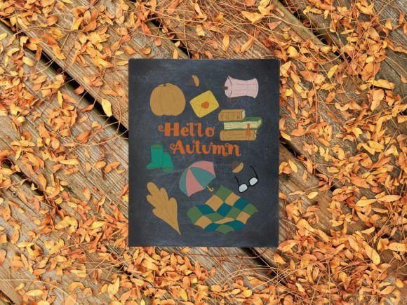 Hello Autumn: Postcard Constructor #helloautumn