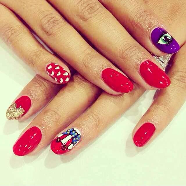Jessica rabbit nails. Who framed Roger Rabbit? #wahnails London | Pt ...