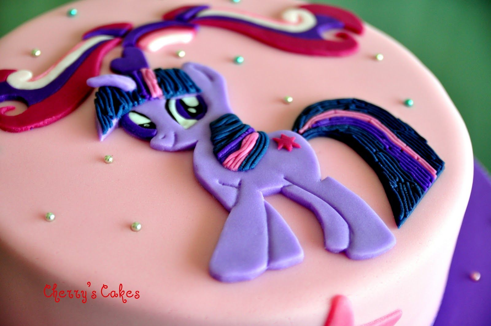 Cherry S Cakes My Little Pony Twilight Sparkle For