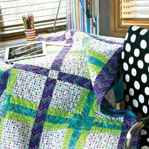 tween.com: Fast and Fun Quick Strip-Pieced Quilt Pattern | Quilts ... : fast and easy quilts - Adamdwight.com