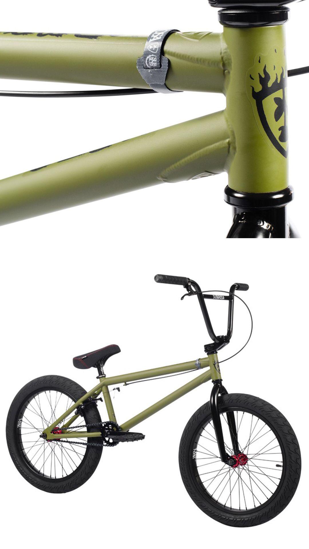 2021 Subrosa Sono Xl Army Green In 2020 Beginner Bike Best Bmx Army Green