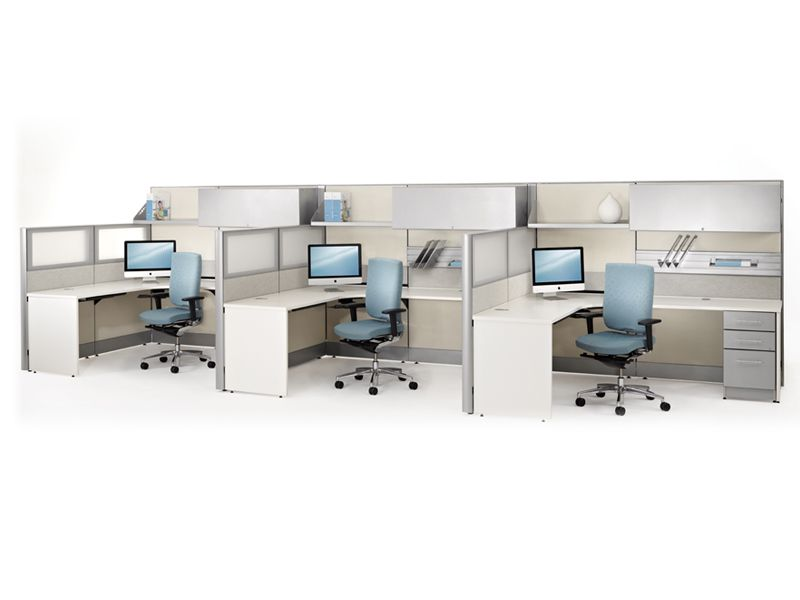 Individual Workstations With Office Cubicles Direct Office