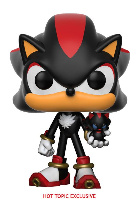 df71ea354dc Funko pop. Sonic the Hedgehog. Shadow with Chao. Exclusive. Hot Topic.