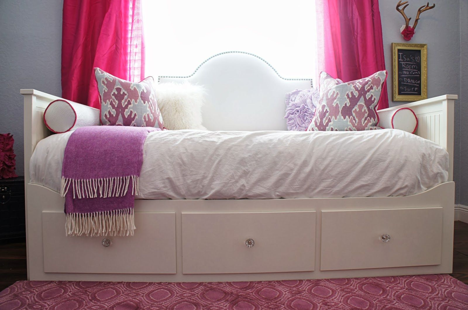 day beds ikea home furniture. The Cuban In My Coffee: Ikea Hack, Upholstered Headboard For Hemnes Day Bed | Hadley\u0027s Big Girl Room Pinterest HEMNES, Hack And Beds Home Furniture B