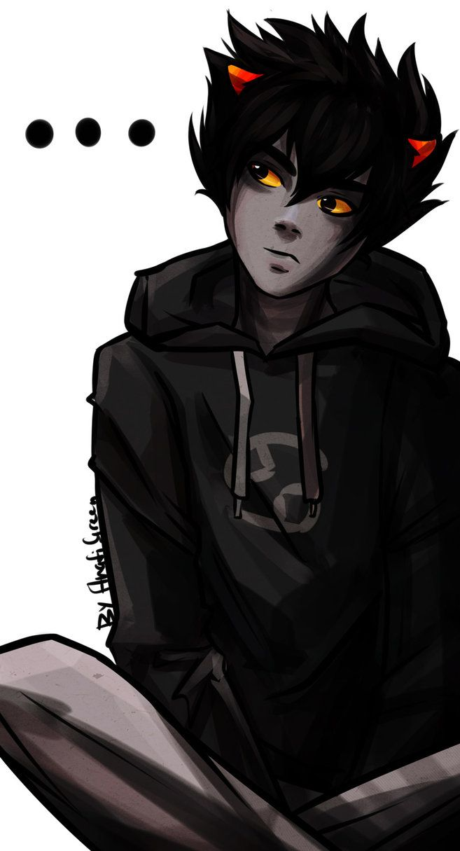 Homestuck: Karkat Vantas 2 by AnafiGreen on DeviantArt