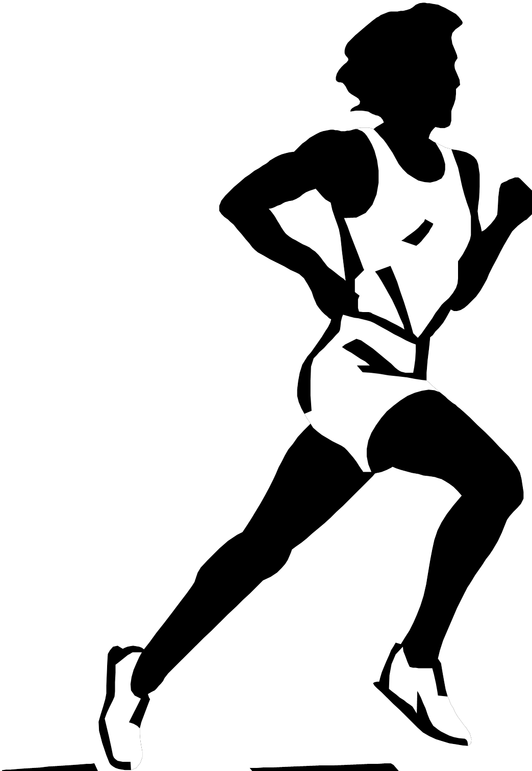 Person Painting Clipart Black And White