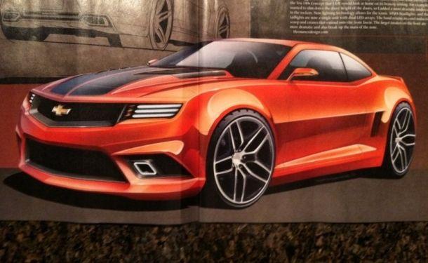 6th Gen 2015 Camaro Speculative Renders