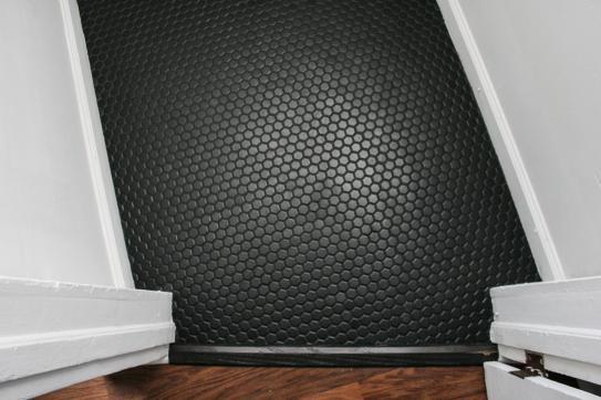 Merola Tile Metro Hex Matte Black 10 1 4 In X 11 3 4 In X 5 Mm