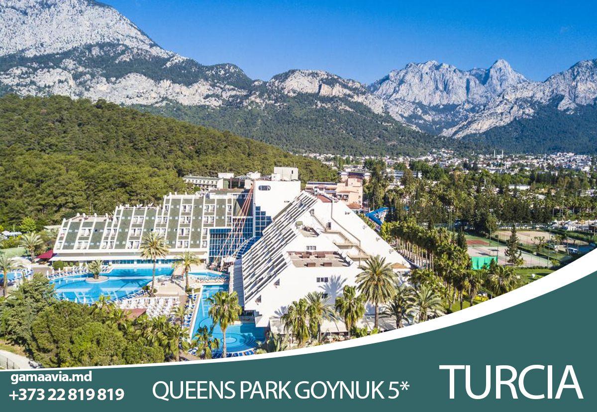 Odihna In Turcia Queen S Park Goynuk Hotel 5 In 2020 Hotel Park Natural Landmarks