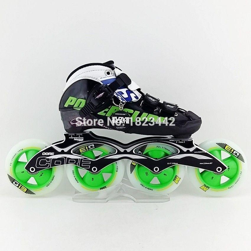 Original Powerslide C6 Speed Skating Shoes Adult Kids