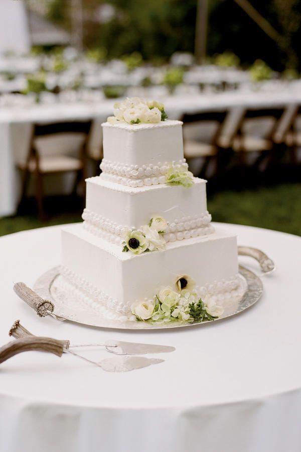 Small Square Wedding Cakes 2017