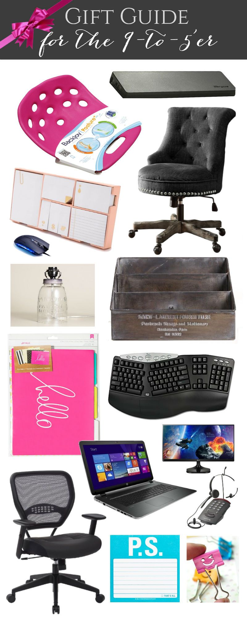 diy office gifts. Gift Guide For The 9 To 5er With Happily Ever After Etc! $50 Giveaway! Diy Office Gifts