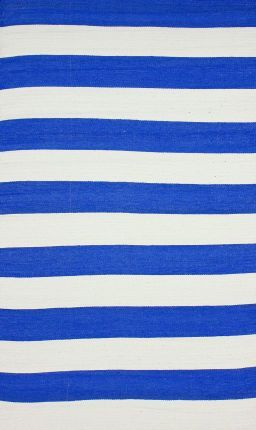 royal blue rug. Brilliance Outdoor Reversible Striped Royal Blue Rug A