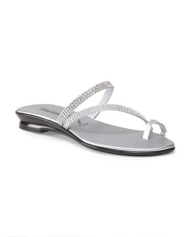 bb60cb2fa4d Made+In+Italy+Amaris+Toe+Ring+Sandal