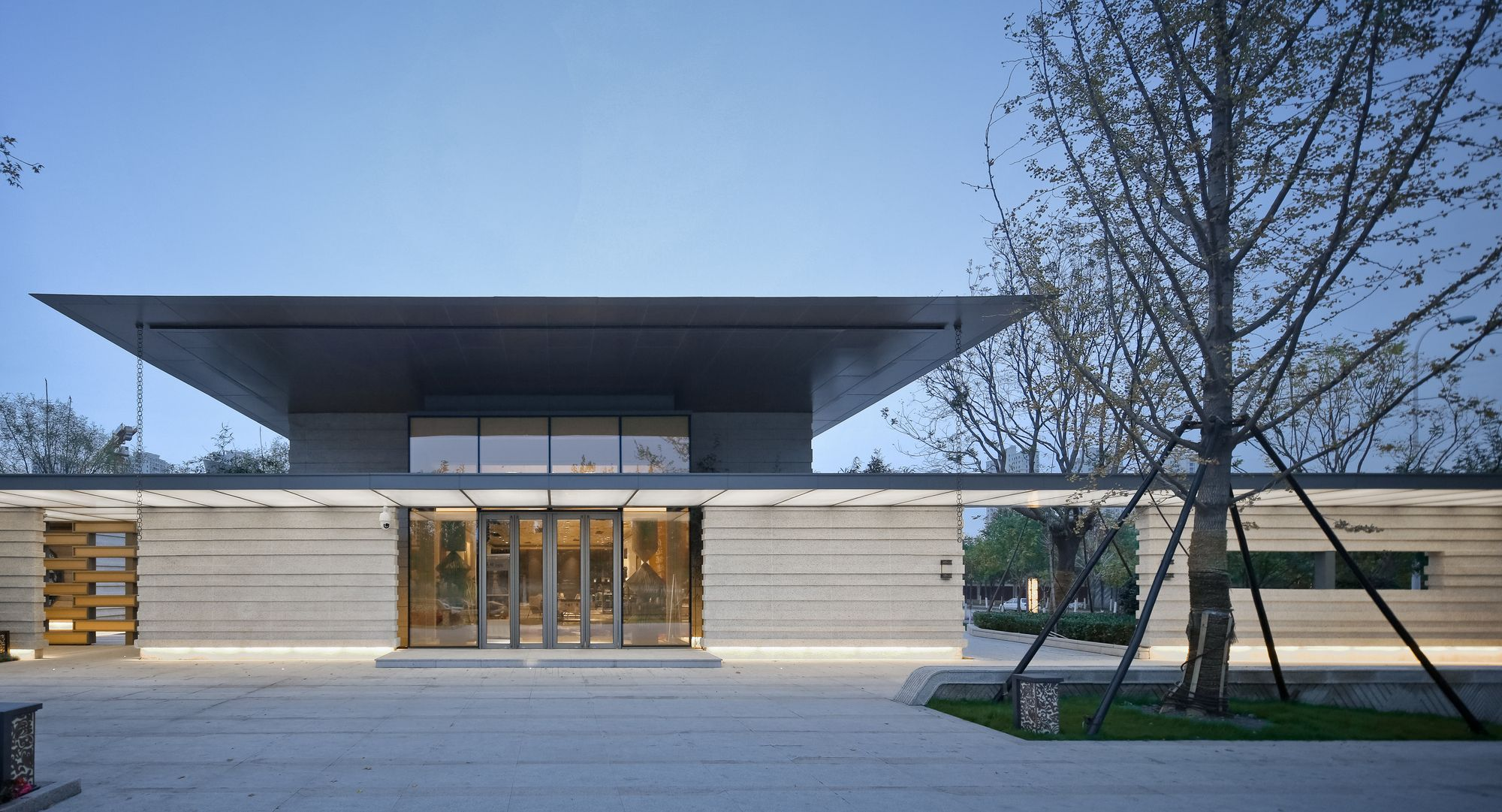 Gallery Of Tianjin Luneng Taishan College Lacime Architectural Design 23 Architecture Asian Architecture Minimal Architecture