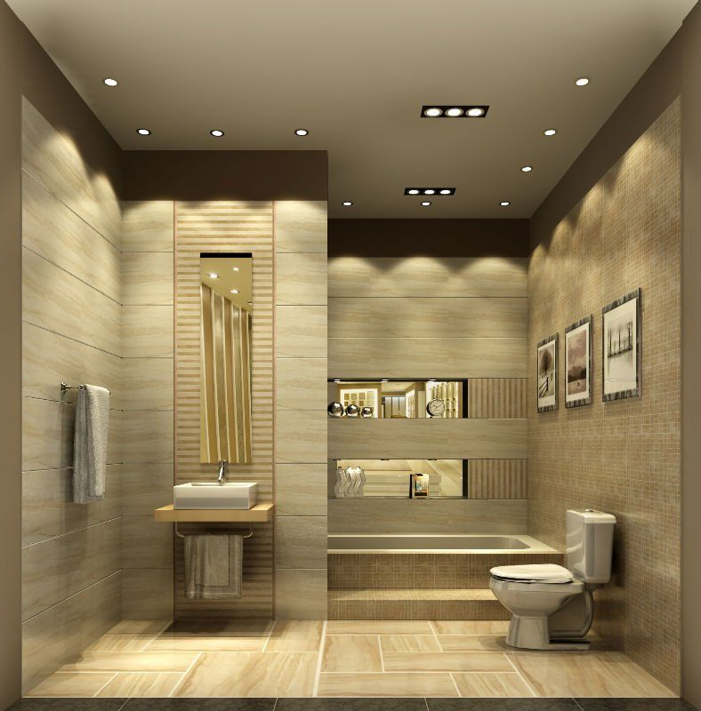Lighting In Interior Design Creative: Decorate Bathroom Interior Design