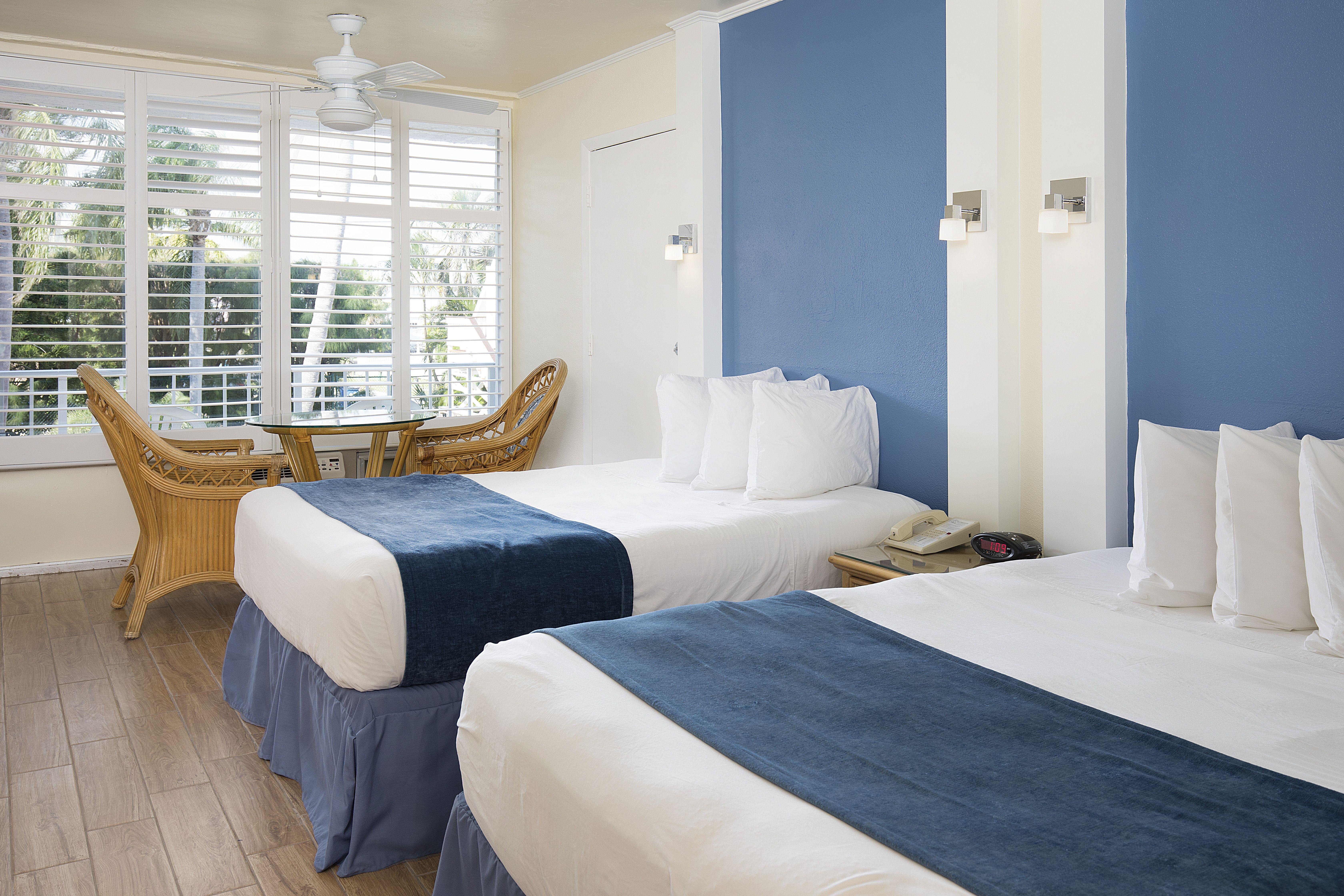 Guest Room At #Fortmyersbeachs Favorite Resort, The Outrigger Beach Resort