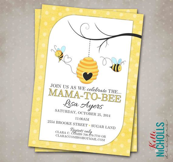 Bumble bee baby shower invitation custom by kellinichollsdesigns bumble bee baby shower invitation custom by kellinichollsdesigns my little bundle pinterest shower invitations filmwisefo Choice Image