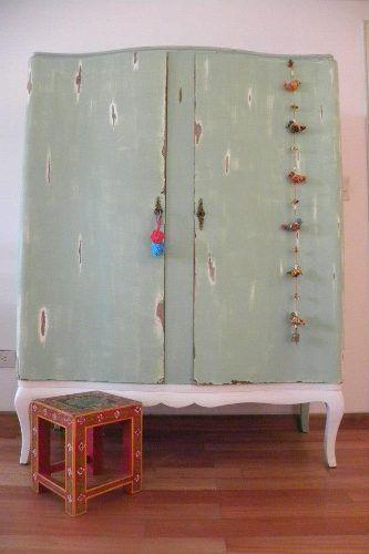 Ropero reciclado | vestidor | Pinterest | Reciclado, Cuarto de bebé ...