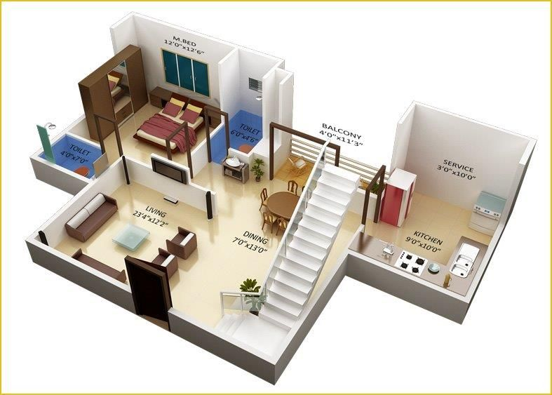 Indian small house design 2 bedroom decorating ideas for Small duplex house plans in india