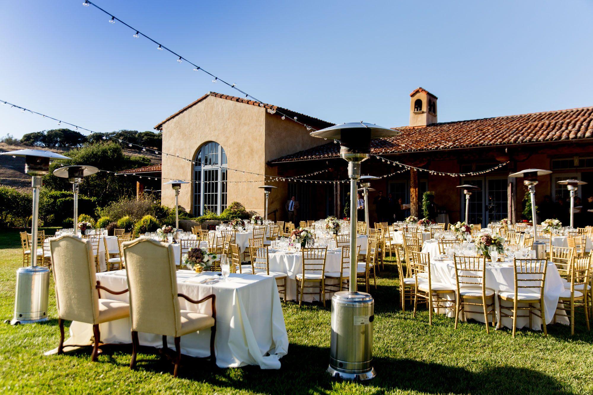 Wedding Reception At Nicklaus Club Monterey Ncmweddings Wedding Reception Reception Table Decorations