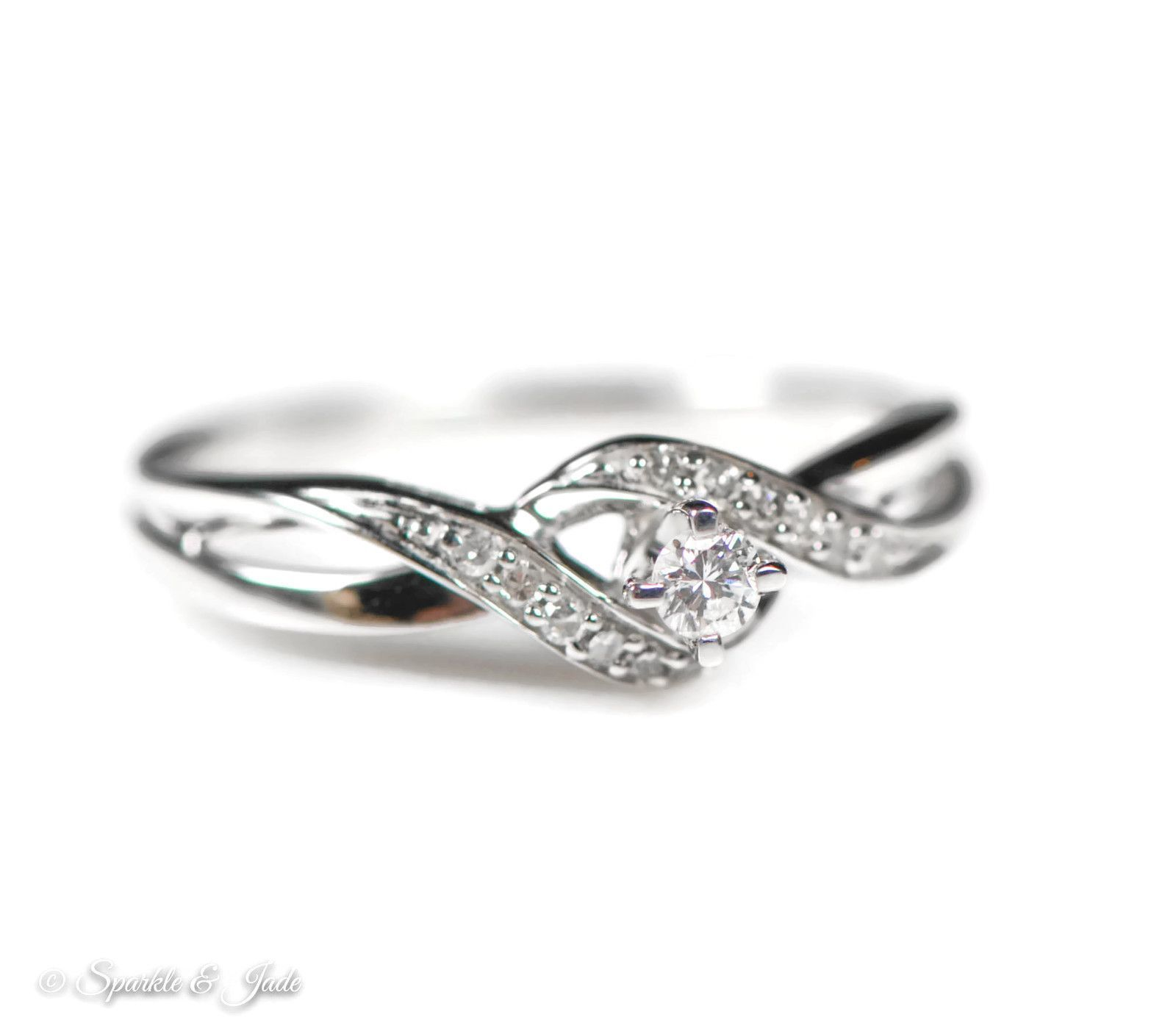 Brilliant Bijou Solid .925 Sterling Silver Rhodium Plated Black and White Diamond Mens Ring