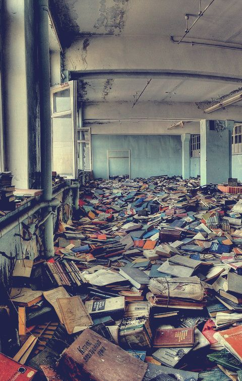 books #abandonedplaces
