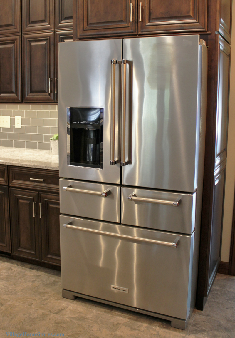 KitchenAid 5 door french door refrigerator in Stainless Steel ...