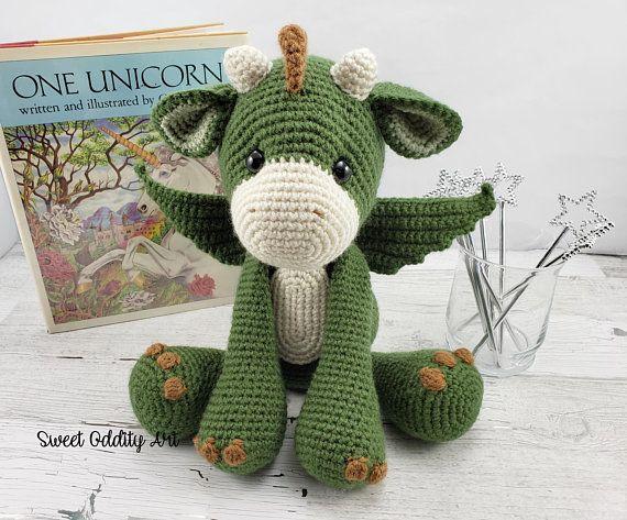Dragon Crochet Pattern Crochet Dragon Dragon Doll Amigurumi