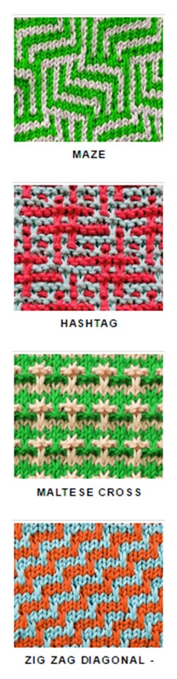 Great stitches for colorwork knitting | Knitting pattern | Pinterest ...