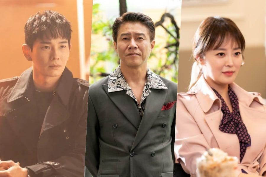 """On Joo Wan, Park Ho San, And Ahn Yun Hong Have Viewers Guessing About Their Roles In """"The Penthouse 3"""""""