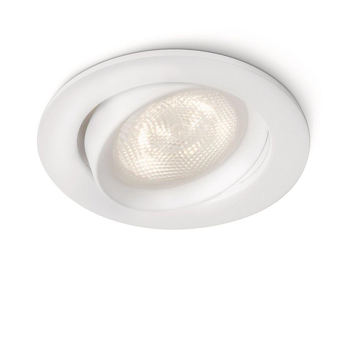 Basse Tension Salle De Bain philips - 517870 - spot encastrable led 4w - blanc - taille