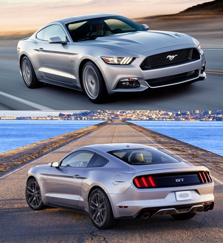 Ford Has Recently Unveiled The Facelift Version Of Its Grand Touring Sports Car Mustang Gt