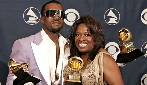 Kanye West And Mother Dr Donda West Rap Together Celebrity Families Celebrity Kids Kanye West