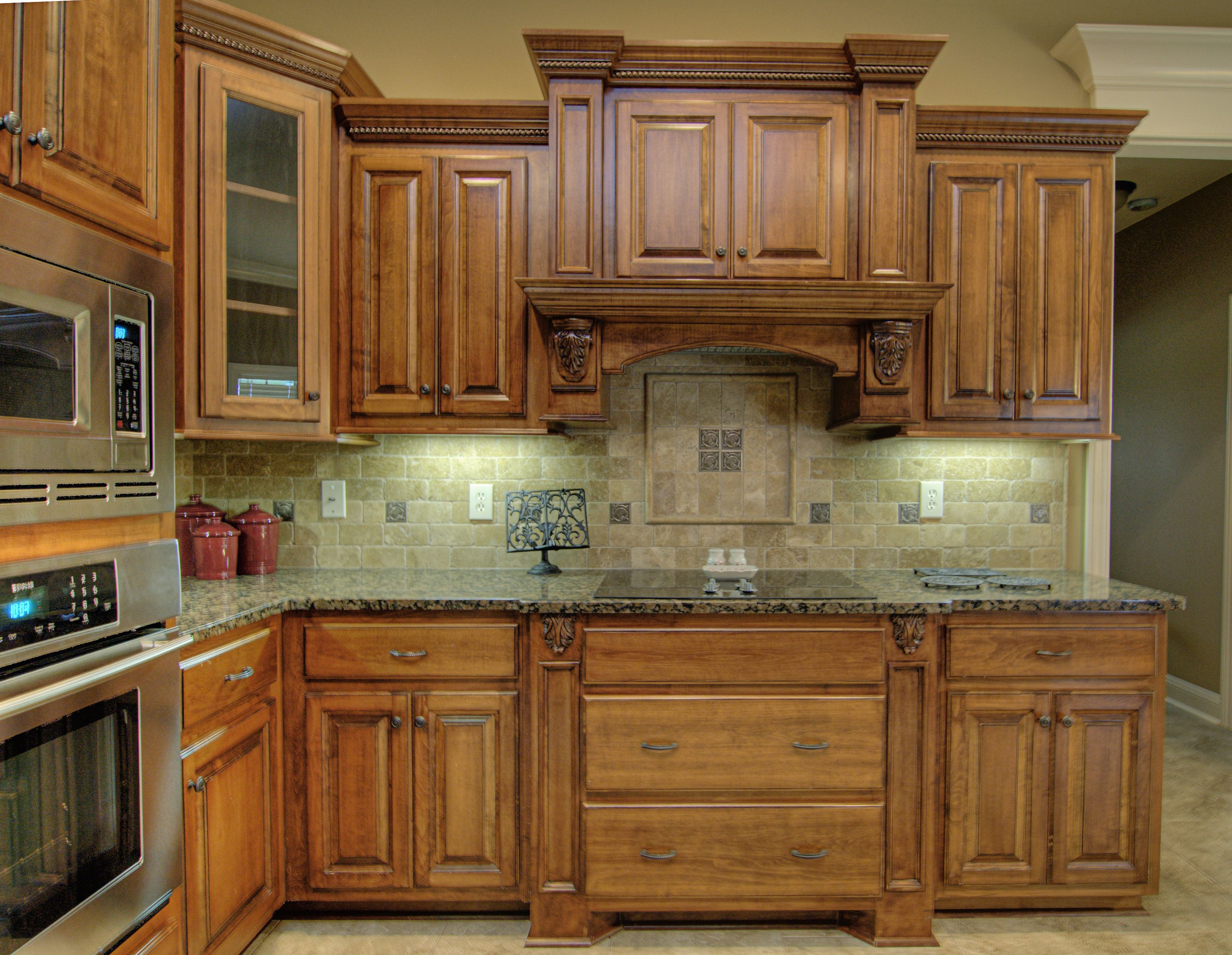 Glazing Oak Cabinets Kitchen 70 Kirkland Custom Inc