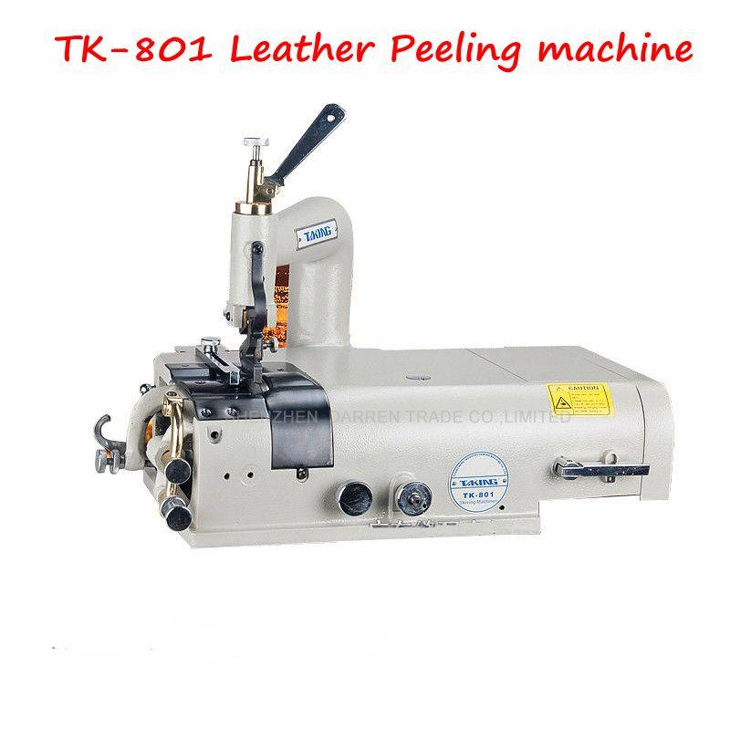 110v 220v Tk 801 Leather Peeling Machine Edge Trimming Machine Leather Equipment Leather Sewing Machine Machine