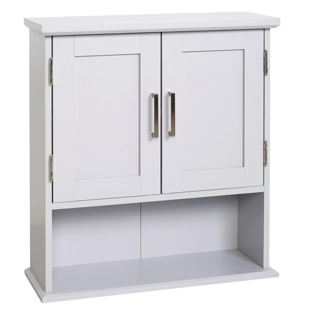 Best Glacier Bay Shaker Style 23 In W Wall Cabinet With Open 400 x 300